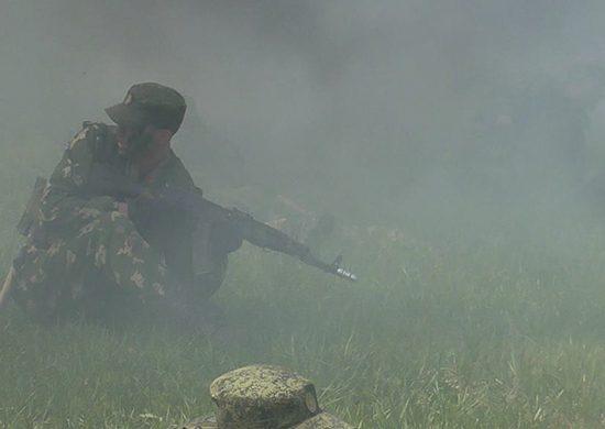 Команда общевойсковой армии изПриморья одолела вконкурсе «Отличники войсковой разведки»