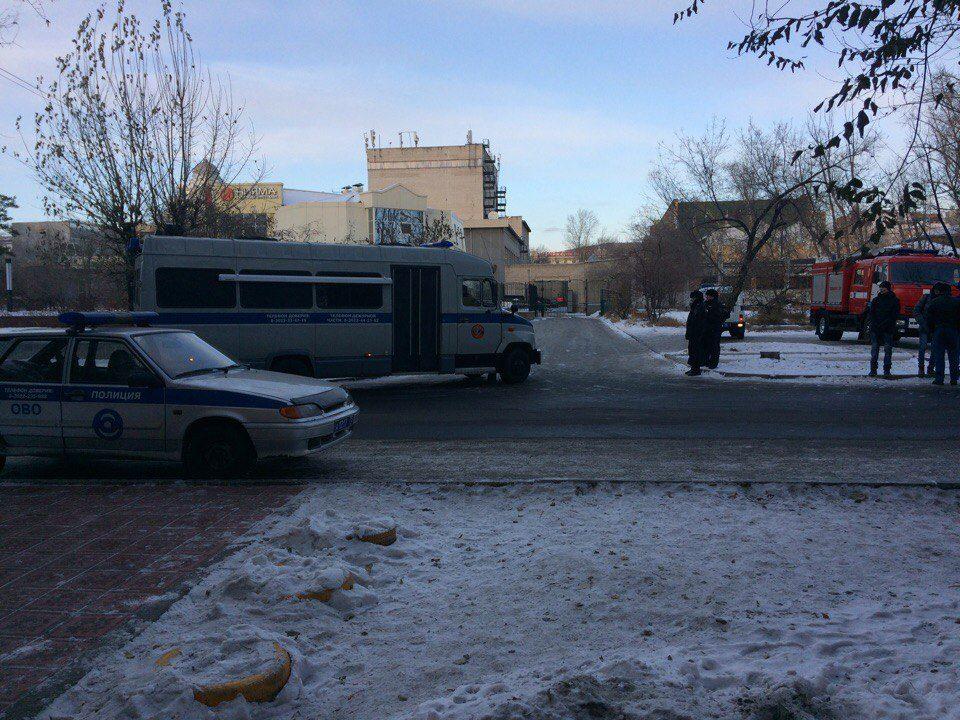 Бомбу вресторане «Нияма милиция Читы 19ноября не нашла
