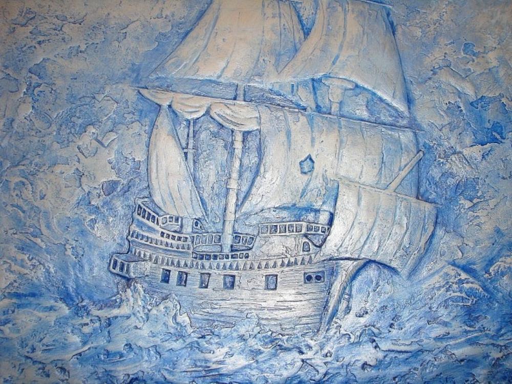 Корабль на стену своими руками 48