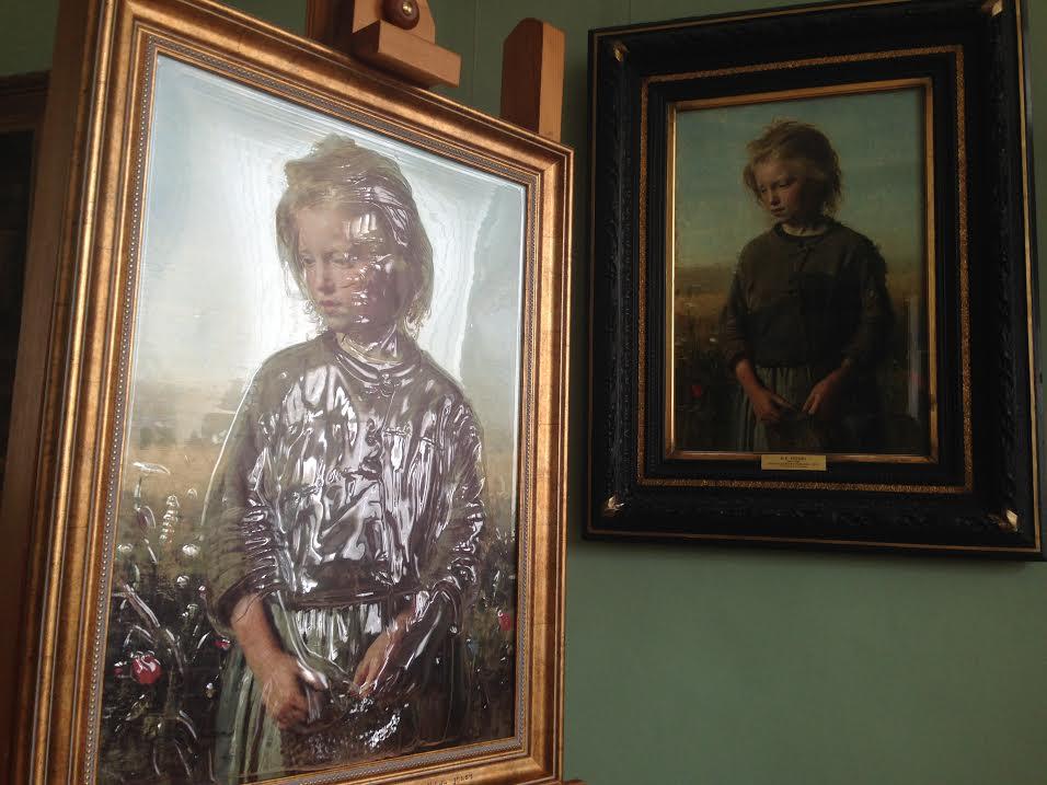 Первая картина для слепых появилась вхудожественном музее Иркутска