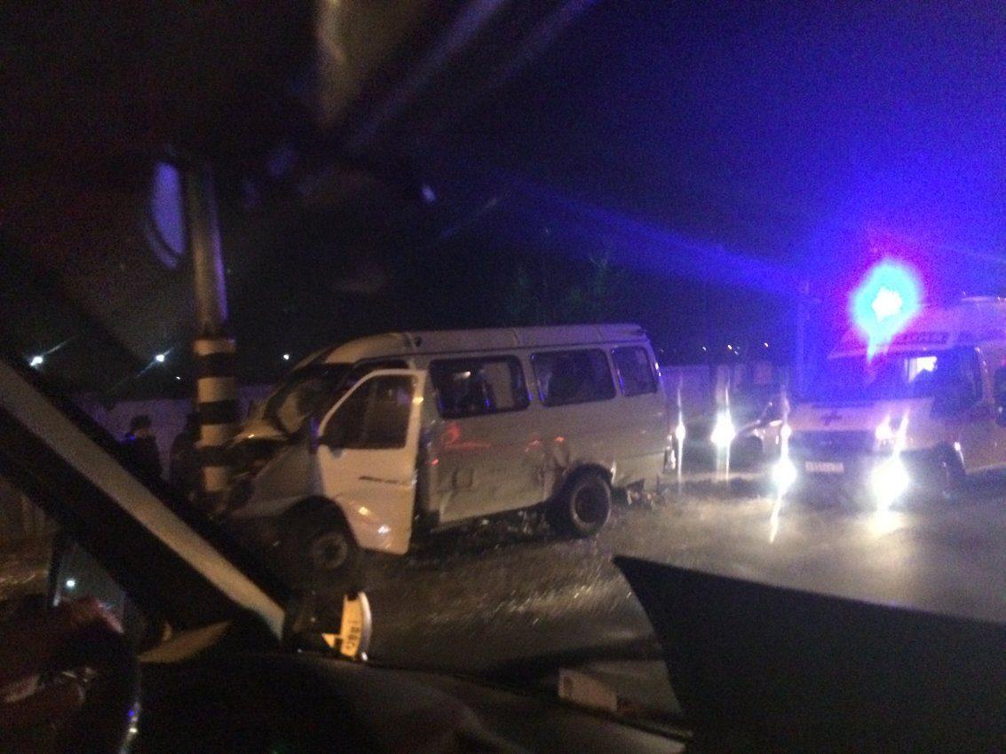ДТП смаршруткой вЧите: семь человек пострадали