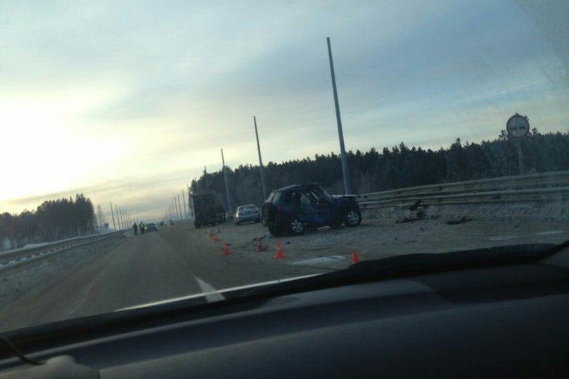 НаБайкальском тракте влобовом столкновении с фургоном умер шофёр «Тойоты»