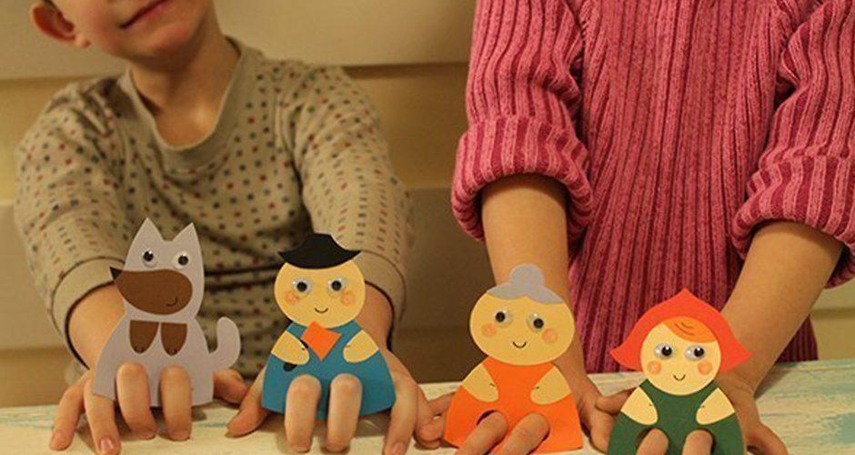 Игрушки из бумаги для кукольного театра