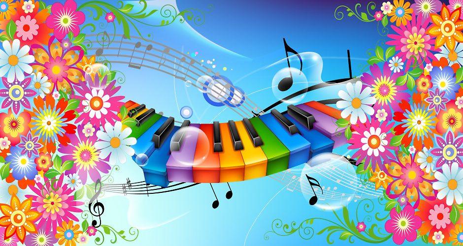 Поздравление слайдов и музыки