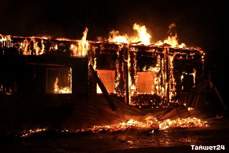 Котельная имагазин «Светофор» сгорели вТайшете