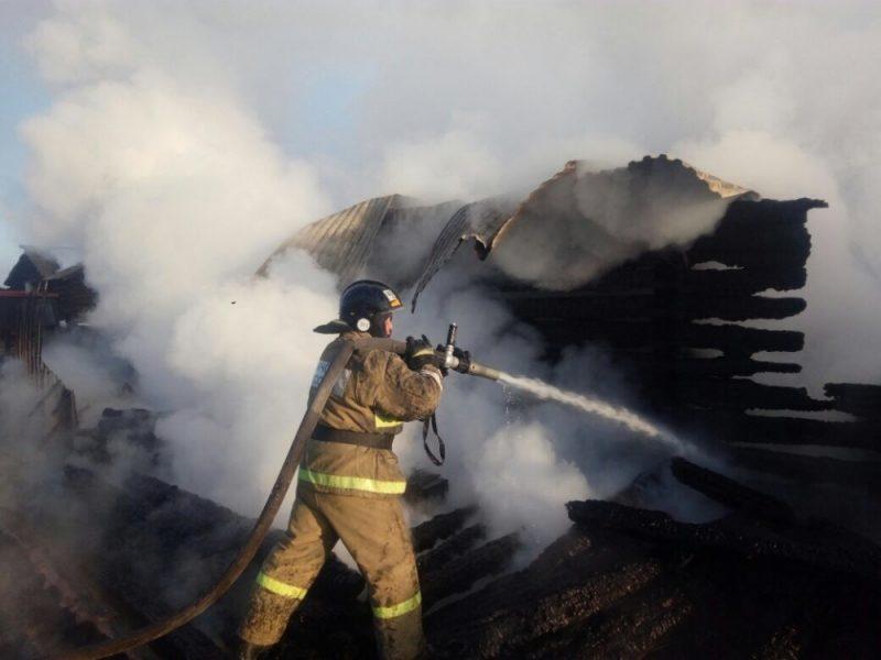 Мать с 2-мя  детьми погибла напожаре вЭхирит-Булагатском районе