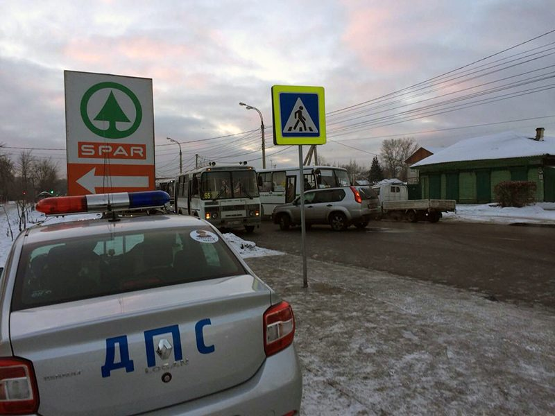 ВИркутске наулице Розы Люксембург сбили 23-летнего юного  человека
