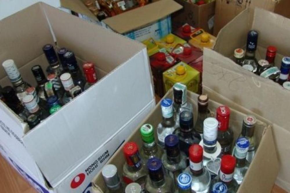 Милиция Иркутска задержала подозреваемых впродаже 24 тонн поддельного алкоголя