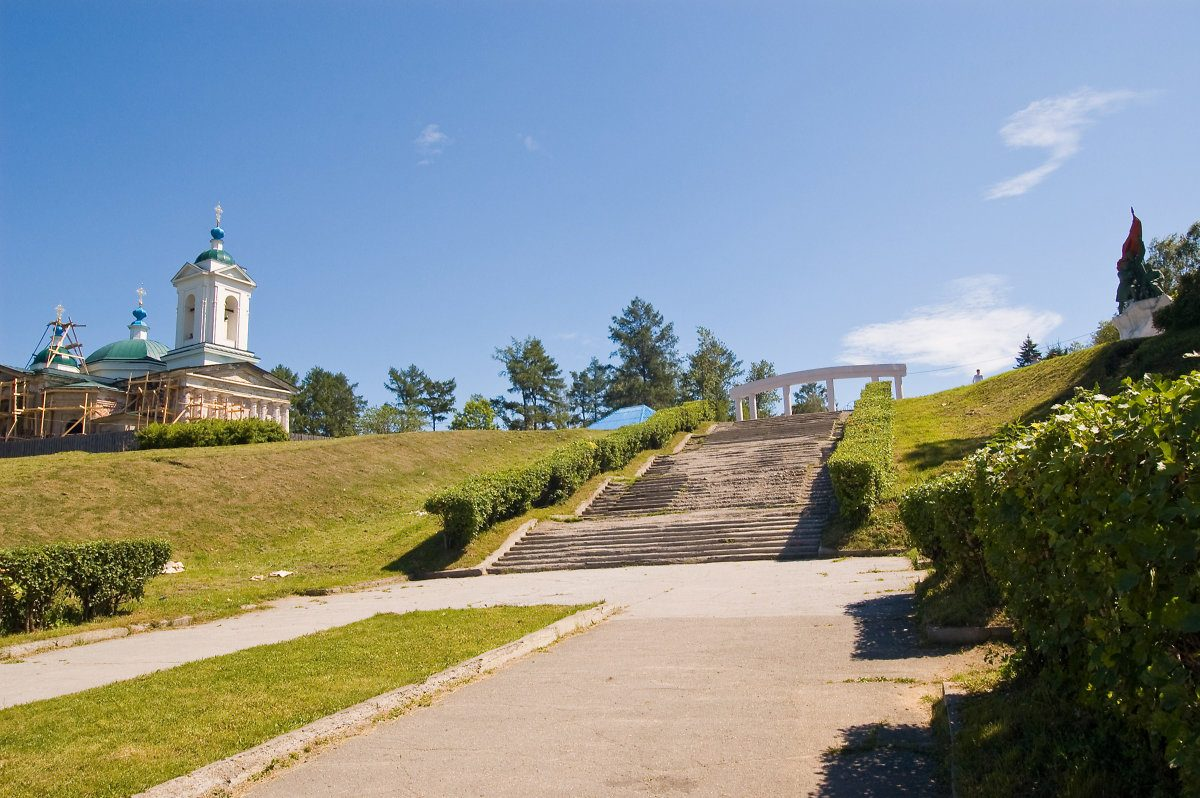Благоустройство Иерусалимской лестницы начнётся вИркутске летом