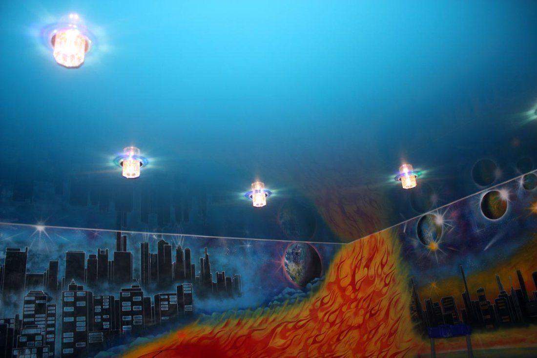 Шаттерсток фото для натяжных потолков