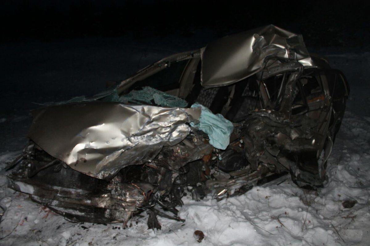 ВИркутской области после ДТП госпитализировали 4 человека