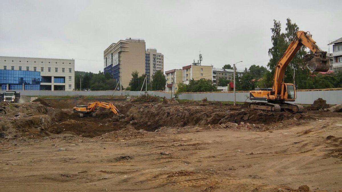 Школу №19 начали строить вИркутске