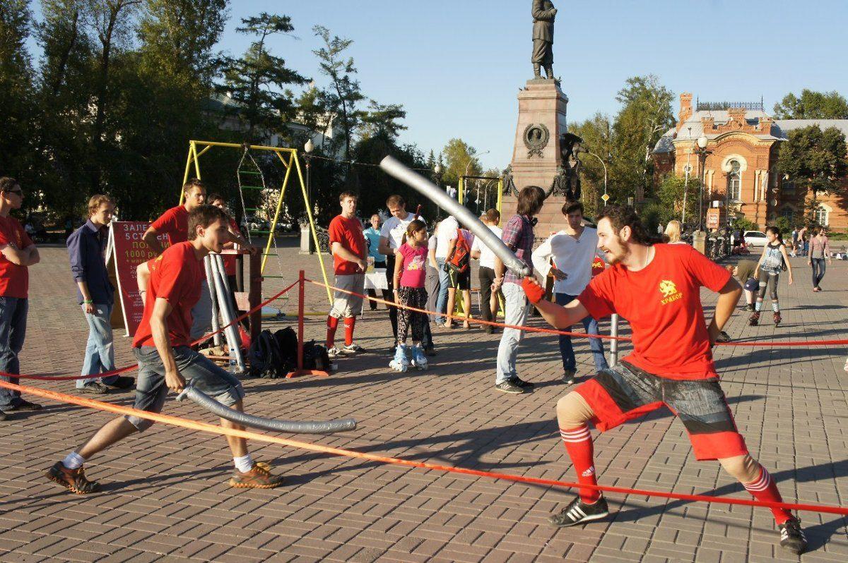 Фестиваль фехтовального искусства пройдет вИркутске вконце сентября