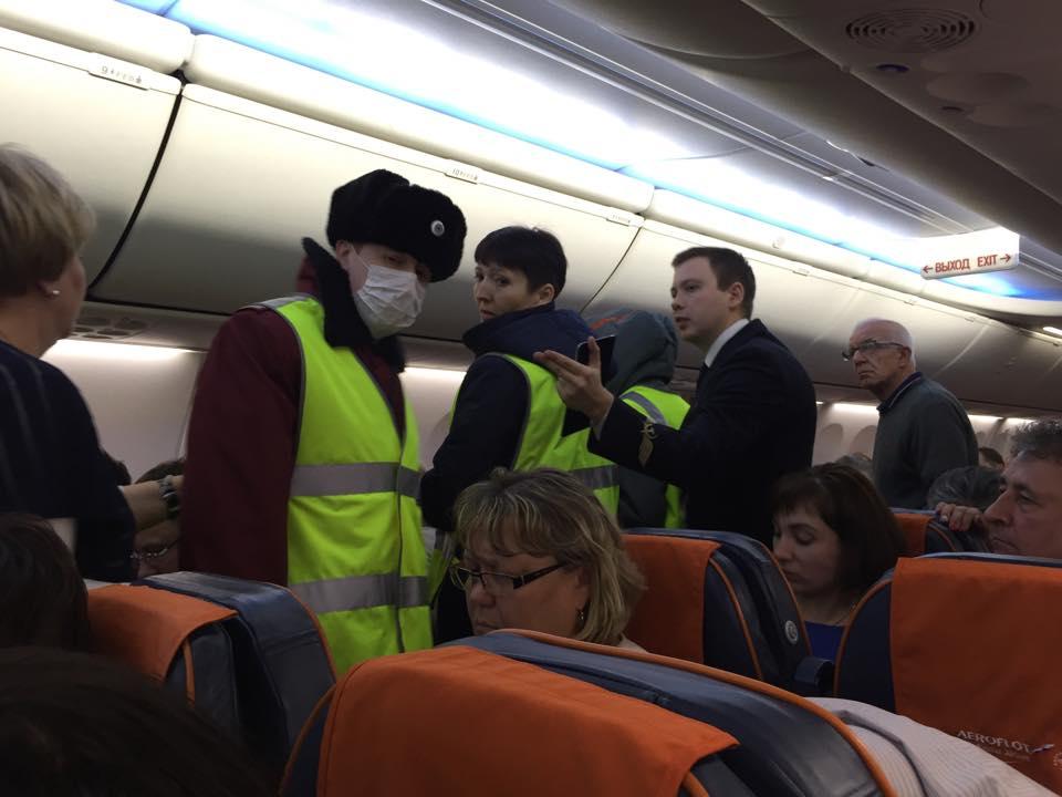 Иркутск: мед. сотрудники изПриангарья спасли пожилую женщину наборту самолёта Москва
