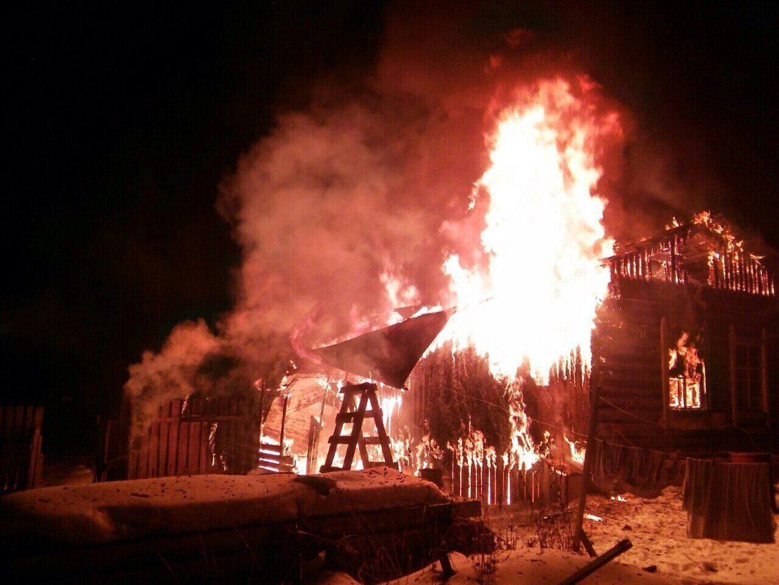 Две женщины погибли впожаре вБайкальске