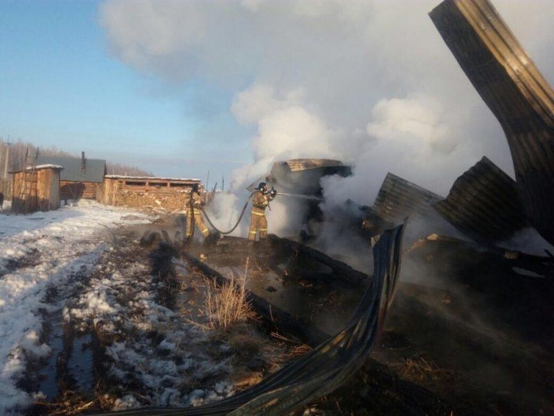 Мать с 2-мя детьми погибли впожаре вИркутской области