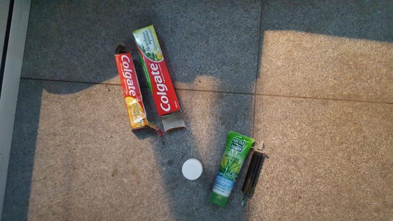 Виркутском аэропорту отыскали наркотики втюбике зубной пасты