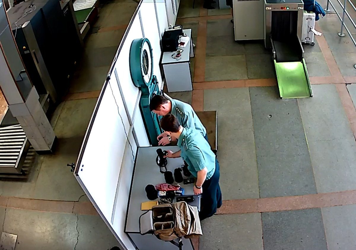 Турист изКитая привез вИркутск радиоактивный фотоаппарат