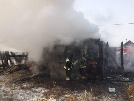 Всадоводстве Мичуринец вИркутской области врезультате пожара погибли двое детей
