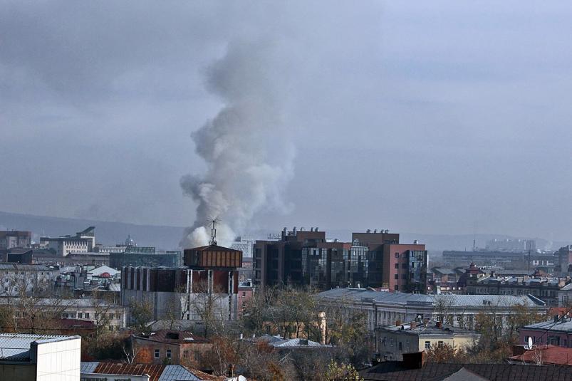 ВРостове потушили пожар накрыше жилой пятиэтажки