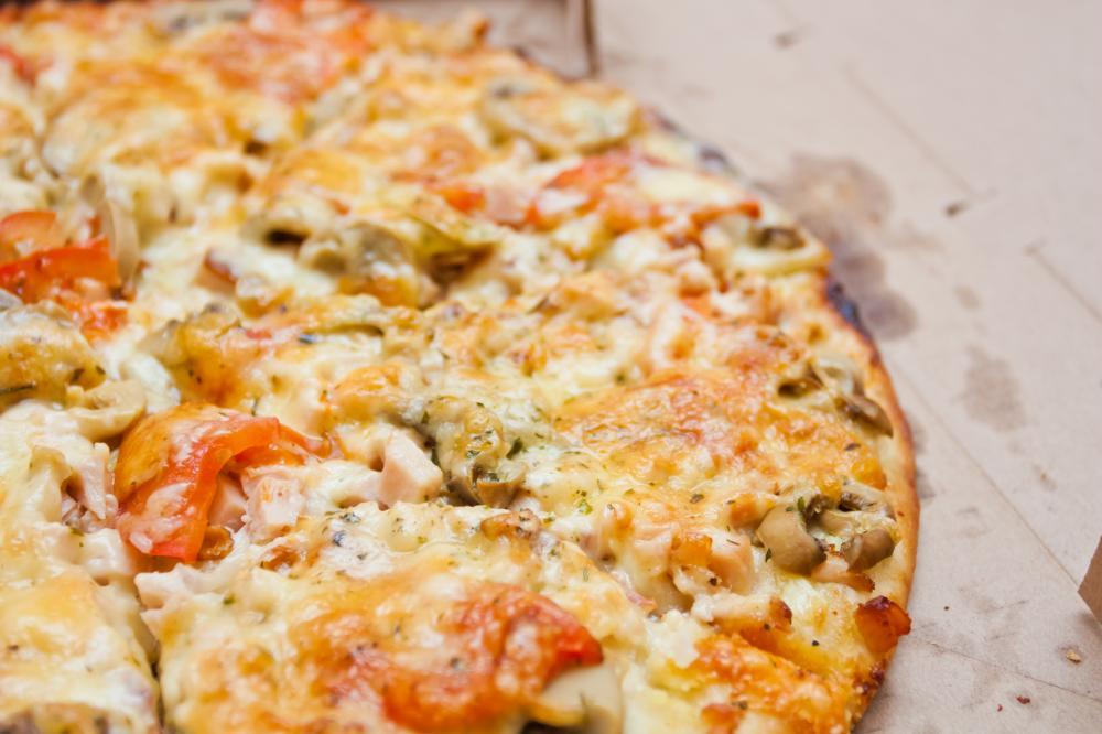 Быстрое дрожжевое тесто для пиццы тонкое вкусное