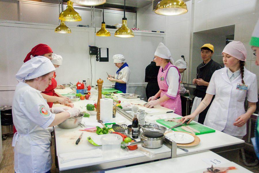 Профессиональные конкурсы среди поваров