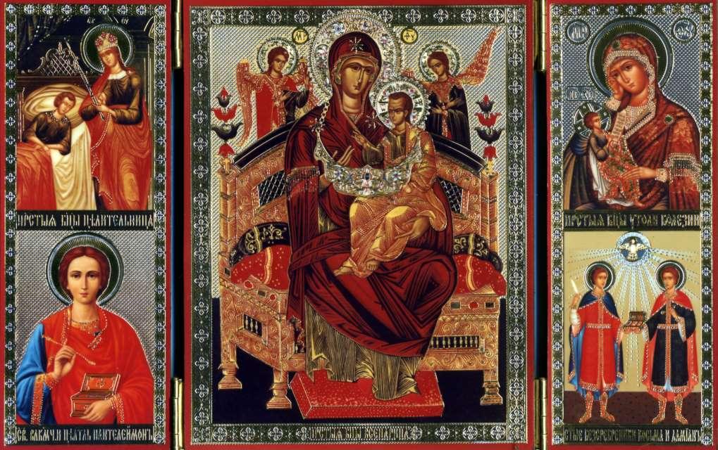 Молебен икрестный ход сиконой Божией Матери «Всецарица» состоится 1сентября