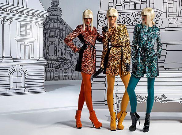 Модный дизайнерский костюм