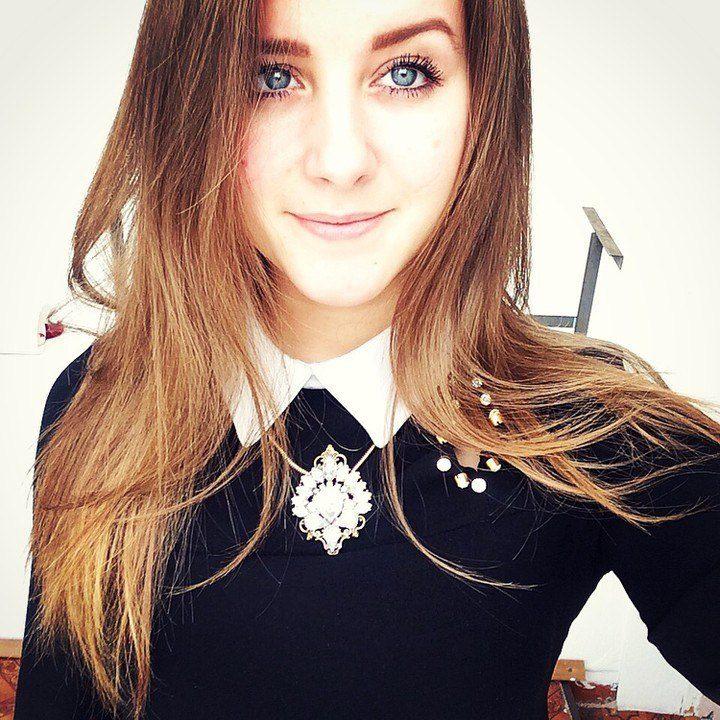 русые фото девушки