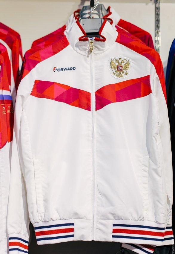 2f3285d50d3 Фирменный магазин спортивной одежды сборных команд России Forward ...