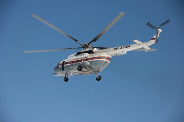 Изтайги Качугского района вертолетом эвакуировали четверых охотников