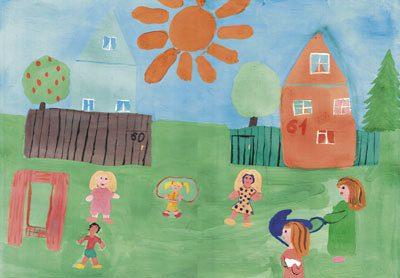 картинки как я провел лето рисунки детей