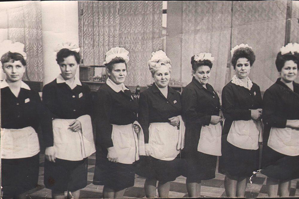 официанты в ссср фото фото видно