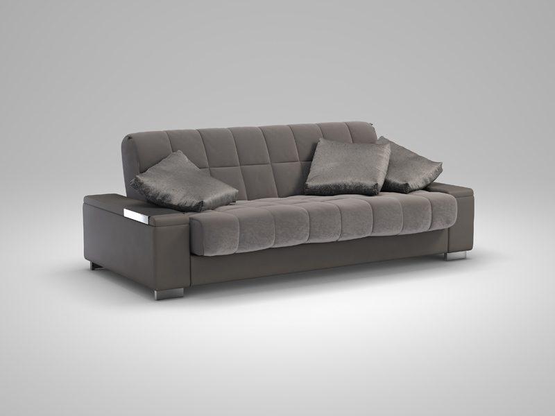 диван кровать Askona готовое решение для небольшой квартиры