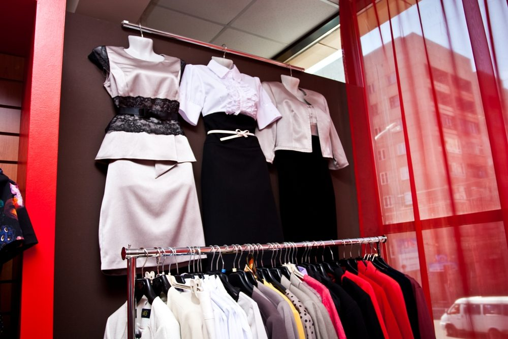 Магазин женской одежды статус