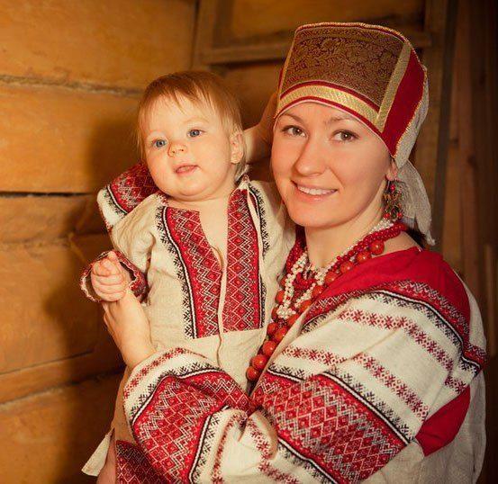 фото мам русское