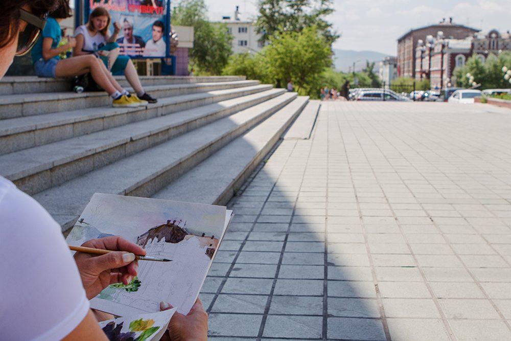 фото улицы читы