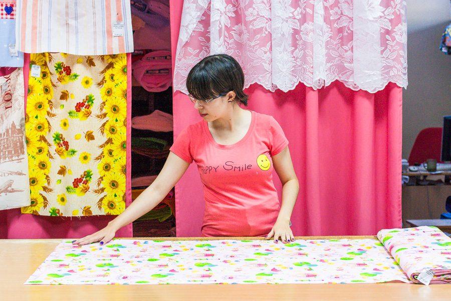 Как отмеряют ткань при продаже